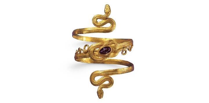 Hellenistic snake bracelet, 3rd-2nd Jh. century BC, photo Günter Meyer