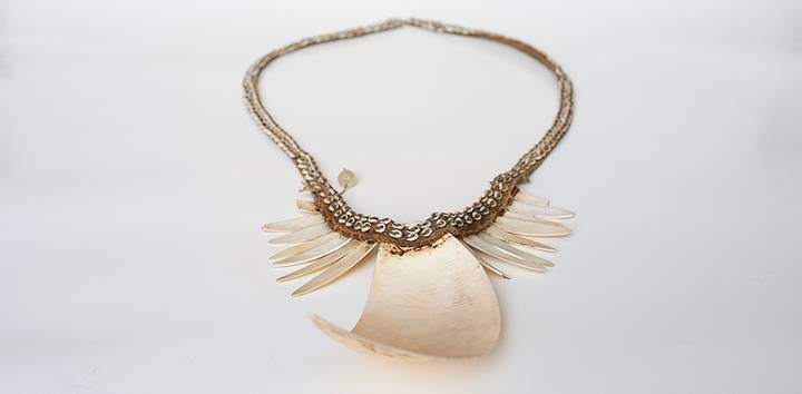 Necklace, New Guinea, Herion collection, photo Petra Jaschke