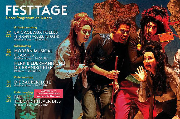 Festtage am Theater Pforzheim