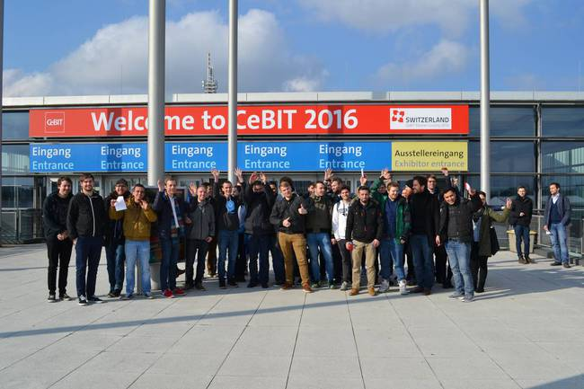 Messebesuch Cebit 2016