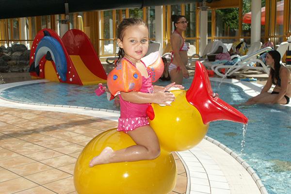 Bild: Kinderplanschbecken in den Wasserwelten