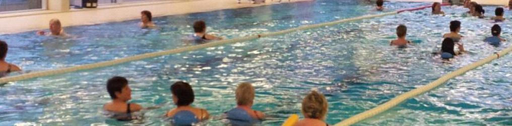 Bild: Schwimmbecken im Stadtteilbad Huchenfeld