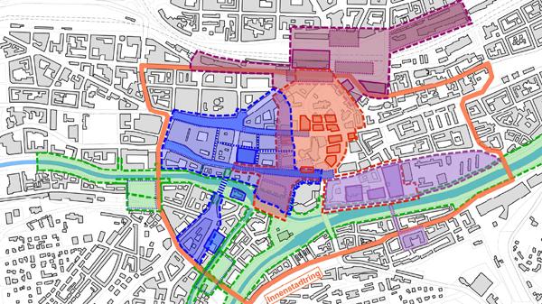 Pforzheim Karte.Pforzheim Mitte Innenstadtentwicklung Pforzheim