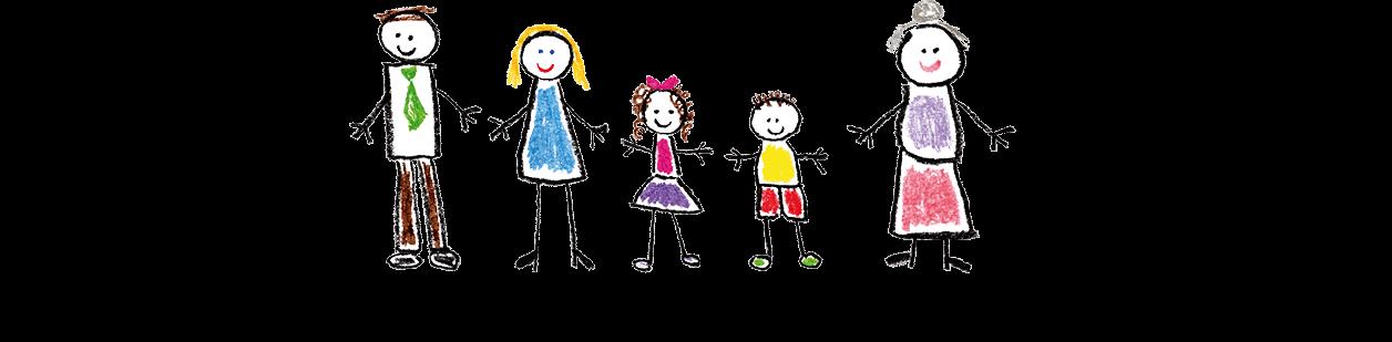 Symbolbild: Familie (Kinderzeichnung)