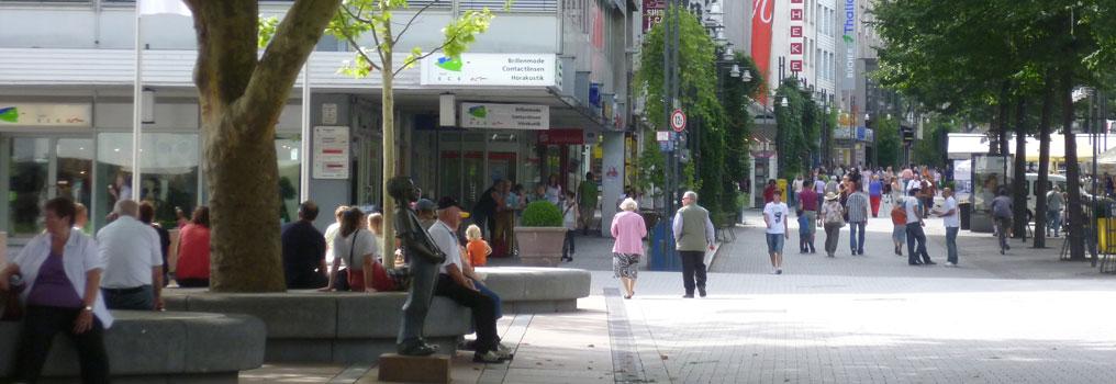 Symbolbild: Fußgängerzone Pforzheim