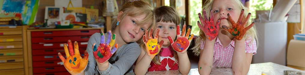 Symbolbild: Kinder im Kindergarten