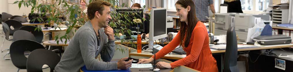 Symbolbild: Verwaltung im Bürgercentrum