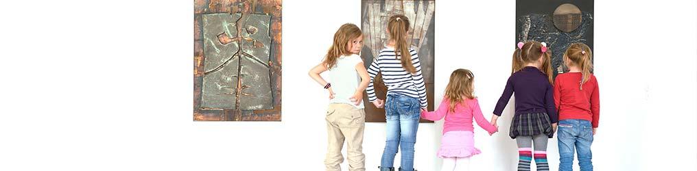 Symbolbild: Kinder im Museum