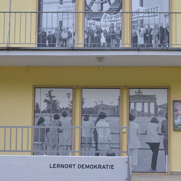 Außenansicht des DDR Museums
