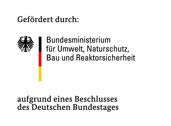 Logo: Bundesministerium für Umwelt, Naturschutz, Bau und Reaktorsicherheit (BMUB)