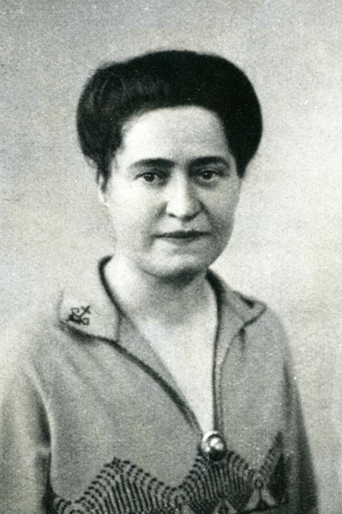Dieses Bild zeigt eine Portraitaufnahme von Edith Trautwein.