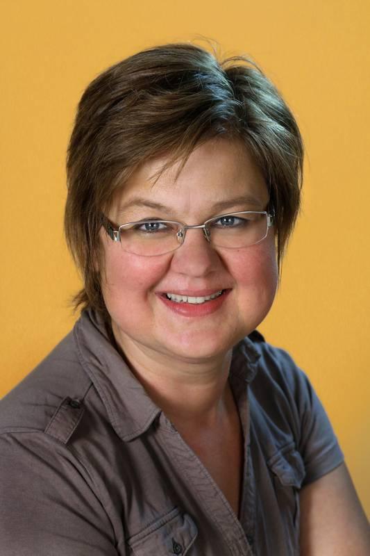 Dieses Portrait zeigt Anja Noël.