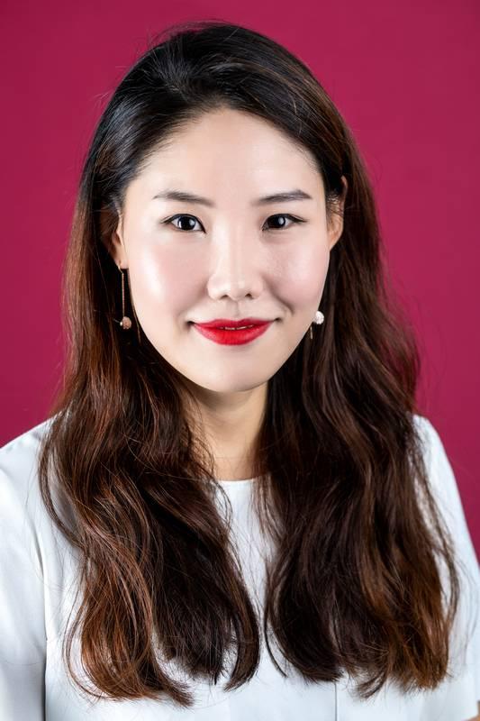 Dieses Portrait zeigt Jina Choi