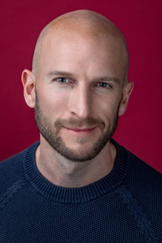 Dieses Portrait zeigt Benjamin Werth