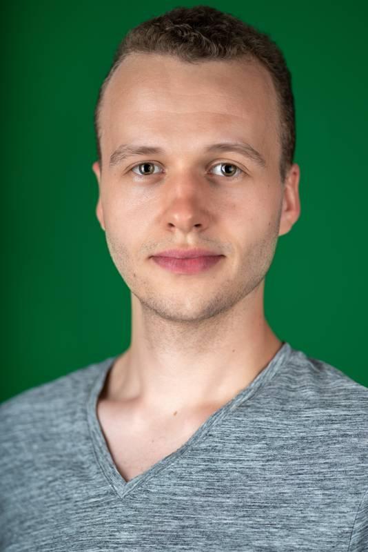 Dieses Portrait zeigt Kai Friebus