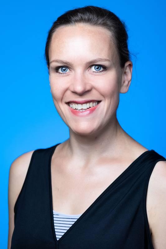 Dieses Portrait zeigt Michaela Fent