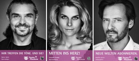 Foto: Gesichterkampagne Theater Pforzheim