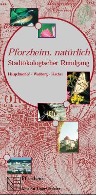 Bild: Titelblatt Rundgang Hauptfriedhof Walberg Hachel