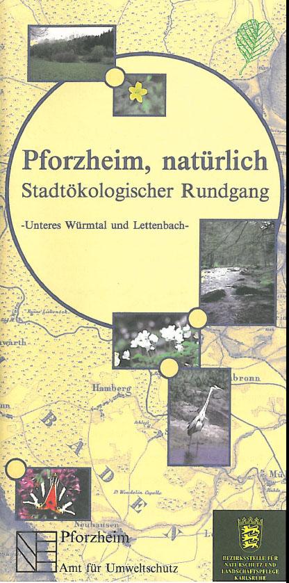 Titelblatt der Broschüre Unteres Würmtal und Lettenbach