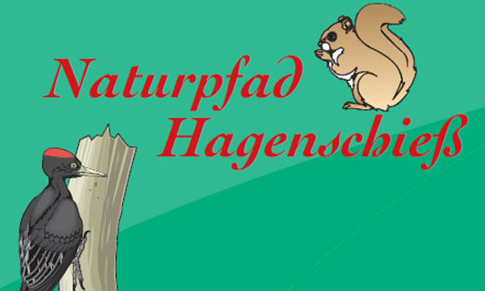 Bild Wortbildmarke Naturpfad Hagenschieß