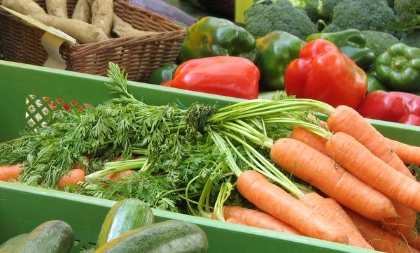 Bild: Gemüse in Kiste