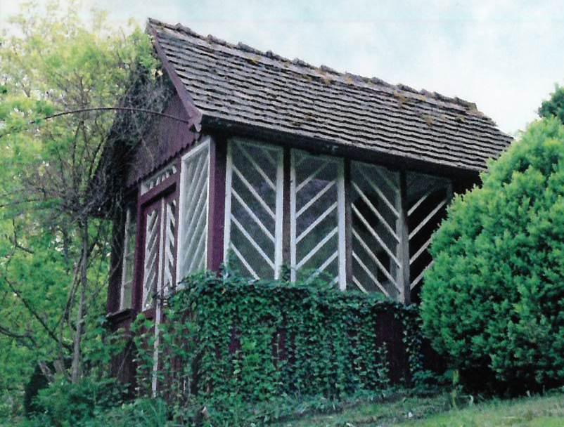 Licht- und Lufthütte von Albert Seifried, Auf dem Berg 2