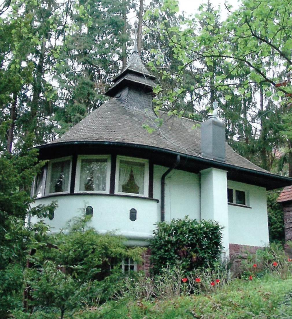 Jugendstilpavillon Auf dem Berg 8