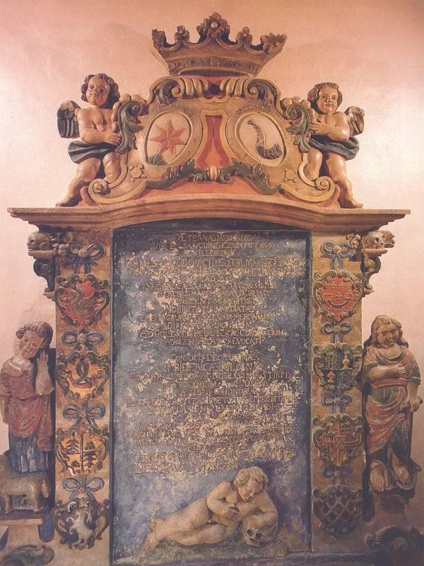 Epitaph in der Evang. Kirche Würm