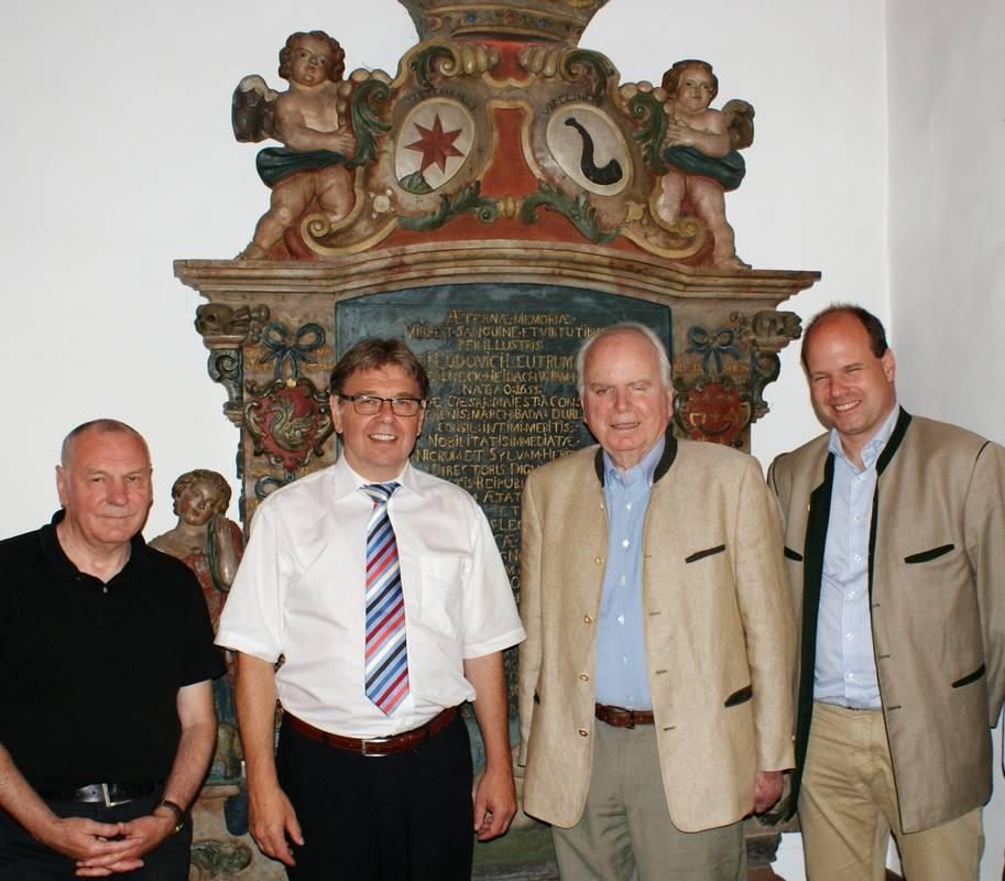 Die Grafen Leutrum von Ertingen am 25.07.2013