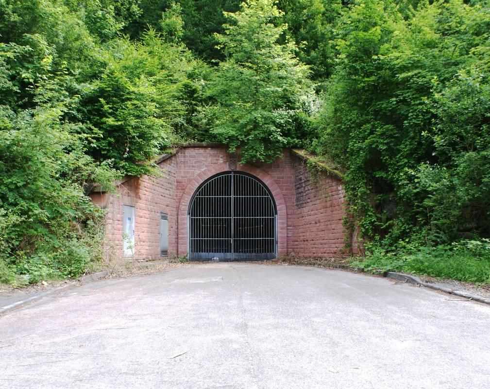 Verschlossene Würmtal-Rampe im Jahre 2009